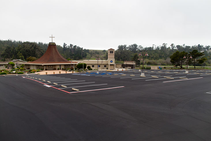 Cambria Church Parking Lot